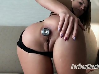 Adriana Chechik in POV Style Ass Fuck With Spill
