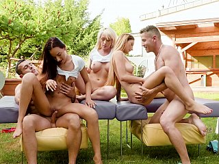 Clean fun outdoors