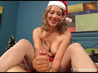 Horny Holiday stepmom seduces me.  Zoey Holloway