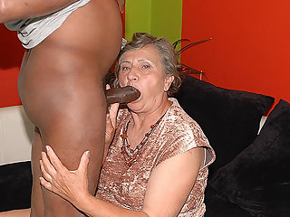 80 years old mom first interracial mating