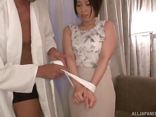 Hayano Ichika adores playing sex conviviality with say no to horny friend
