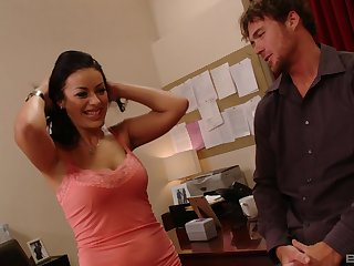 Angelica Jet craves for a nasty fuck all round a handsome stranger