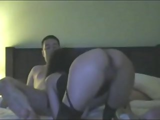 Horny clumsy hardcore, hair pulling, spank booty porn scene