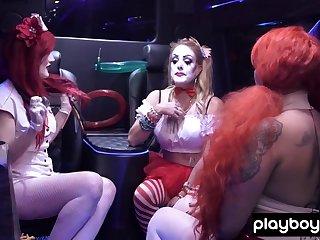 Chemical Burn shows her crestfallen clown fantasy to Kate