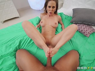 Mature mom pleases step descendant with the best POV shag