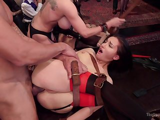 Severe BDSM porn be required of the obedient ragtag