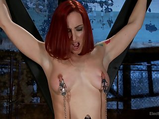 Chanel Preston and Sophia Locke love playing with BDSM equipment