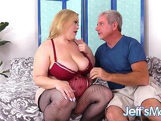 Exquisite Fat Spoil Bunny De La Cruz Seduces an Old Man Secure Pummeling Her