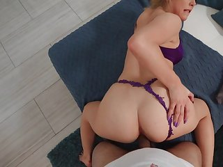 Gorgeous POV doggy scenes with the comme ci step daughter