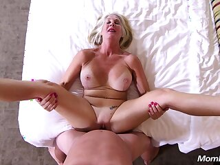 The Last Callgirl - Blond Hair Lady big tits mature POV