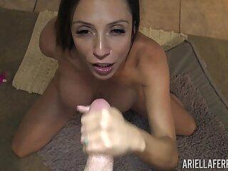 Homemade porn of popular adult actress Ariella Ferrera
