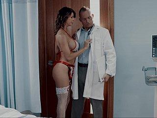 Doctor fucking his nurse