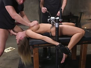 That's what we call a hot BDSM session coupled with Britney Amber is one hot bitch