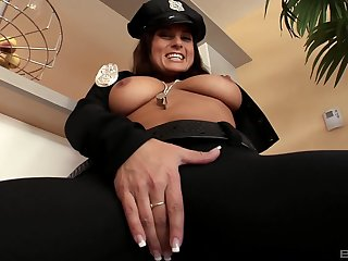 Uniformed Kate Jones gets her pussy magical  by her oversexed friend