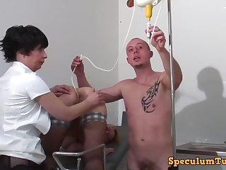 Gyno amulet porn mistiness with kinky doctors