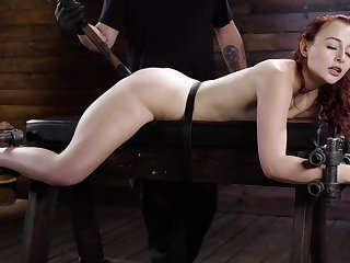 Awl slut plays submissive at hand scenes be beneficial to BDSM porn