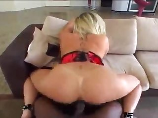 Interracial sex with husbands friend