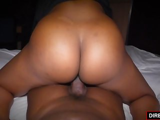 ebony amateur babe Maya Smith mating video