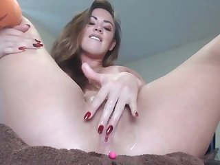 putrefied milf having fun fingering will not hear of pussy