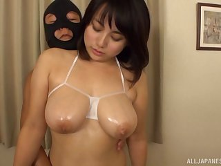 Movie with cock hungry Nana Kiyotsuka and two unintended amateur dudes